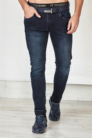 İndigo Slim Fit Jean
